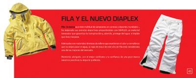 Fila y el nuevo DIAPLEX